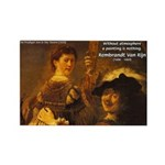 Art & Atmosphere Rembrandt Rectangle Magnet (100 p