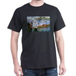 Renoir Painting: Art & Beauty Black T-Shirt