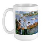 Renoir Painting: Art & Beauty Large Mug