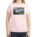 Renoir Painting: Art & Beauty Women's Pink T-Shirt