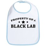 Property of a Black Lab Bib