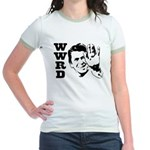 What Would Reagan Do Jr. Ringer T-Shirt