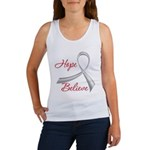 Hope Believe Diabetes Women's Tank Top