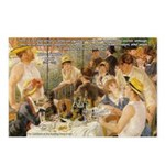 Renoir Quote and Landscape Postcards (Package of 8