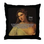 Titian Renaissance Master Throw Pillow