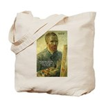 Vincent Van Gogh Quote Tote Bag