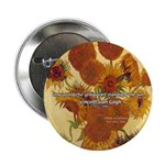 "Van Gogh Painting & Quote 2.25"" Button (10 pack)"