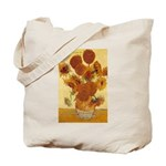 Van Gogh Painting & Quote Tote Bag