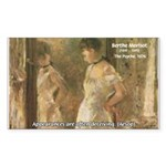 Aesop Quote Psyche Painting Rectangle Sticker