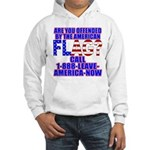 Offended By America Hooded Sweatshirt