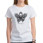 Diabetes Tribal Butterfly Women's T-Shirt