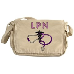 LPN Medical Messenger Bag