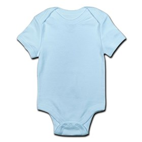 Sky Blue Infant Romper