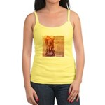 St. Michael Prayer in Latin Jr. Spaghetti Tank
