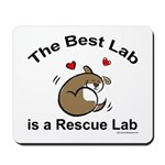 Best Rescue Lab Mousepad