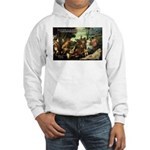 Intoxication Nietzsche Art Hooded Sweatshirt