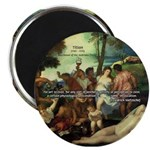 "Intoxication Nietzsche Art 2.25"" Magnet (10 pack)"