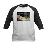 Freud Erotic Quote and Titian Kids Baseball Jersey