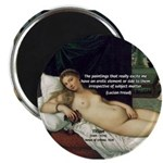 "Freud Erotic Quote and Titian 2.25"" Magnet (100 pack"