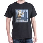 Deco Father of the Groom Black T-Shirt