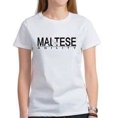 Maltese Agility Women's T-Shirt