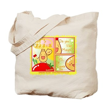 Mayo Comic Tote Bag