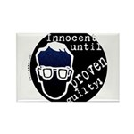 Innocent Until Proven Guilty Rectangle Magnet