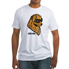 Cool Dog Fitted T-Shirt
