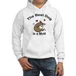 Best Mutt Dog Hooded Sweatshirt