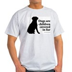 Dog Fur Children Ash Grey T-Shirt