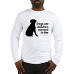 Dog Fur Children Long Sleeve T-Shirt