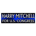 Harry Mitchell congressional campaign bumper sticker