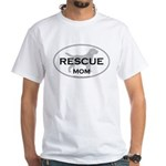 Rescue MOM White T-Shirt