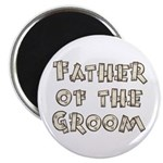 "Country Father of the Groom 2.25"" Magnet (10 pack)"