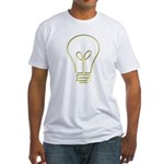 The Pale Bulb Fitted T-Shirt