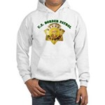 Border Patrol Badge Hooded Sweatshirt