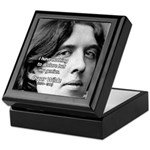 Playwright Oscar Wilde Keepsake Box