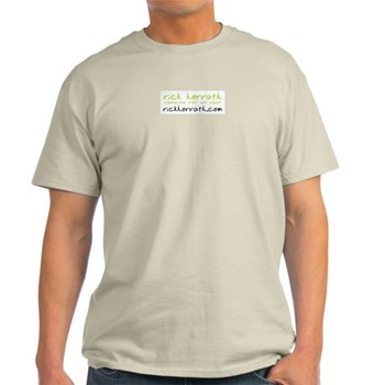 Rick Horvath Ash Grey T-Shirt