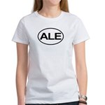 ALE Beer Lager Brew European Oval Women's T-Shirt