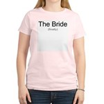Finally the Bride Women's Pink T-Shirt