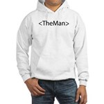 HTML Joke-TheMan Hooded Sweatshirt
