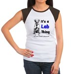 It's A Lab Thing Women's Cap Sleeve T-Shirt
