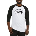 Run Runner Running Track Oval Baseball Jersey