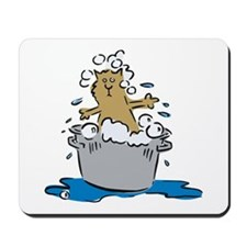 Cat Bath II Mousepad