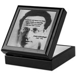 Erwin Schrodinger: Truth Keepsake Box