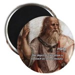 "Plato Education: 2.25"" Magnet (10 pack)"