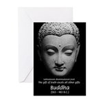 Buddhist Religion: Gift of Truth Greeting Cards (P
