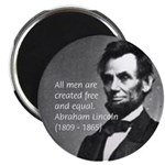 "Abraham Lincoln 2.25"" Magnet (10 pack)"