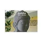 Eastern Philosophy: Buddha Rectangle Magnet (100 p