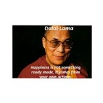 The Dalai Lama Rectangle Magnet (100 pack)